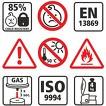 Elektronik Feuerzeuge weiß mit LED Druck Logo Foto 4-farbig