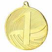 Medaille MD1291 aus Stahl 50 x 3mm Zahlen 1 2 3