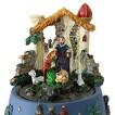 Karussell Krippe Spieluhr Weihnachten in Geschenkverpackung