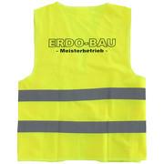 Sicherheitswesten Warnweste mit Namen Logo Druck ab 1 Stück