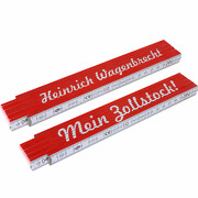 Zollstock Mein Zollstock! mit Namen jetzt selbst personalisieren