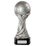 Fußball Pokal ROYAN Ball Trophäe mit Gravur