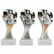 Kart Pokal Pokalset METZ mit Gravurplatte und Gravur