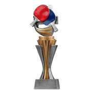 Pokal Trophäe Tischtennis Serie SALAKA aus Resin PVC 3 Größen