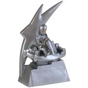 Pokal Kart Trophäe Kartsport GoKart Keramik 16cm hoch