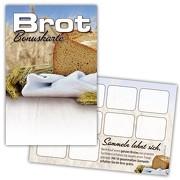 Brot Pass / Bonuskarte Brot / Treuekarte, Gutschein