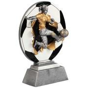 Pokal Trophäe Fußball Frauenfußball Mädchen Damen Keramik
