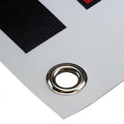 PVC Werbebanner 2x1 Meter inkl. Druck und Ösen, 4-farbig 510g