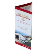 Falter DLANG 6 Seiten (offen ca. A4) 170g glänzend
