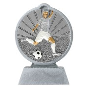 Pokal mit 3D Motiv Fußball Soccer Serie Ronny 10,5 cm hoch