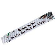 Zollstock Maß der Dinge Geschenk mit Namen jetzt selbst personalisieren