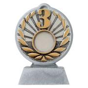 Pokal mit 3D Motiv Dritter Platz 3 Serie Ronny 10,5 cm hoch