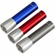 Powerbank Taschenlampe HELIK 2200mAH mit Gravur Namen