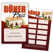 Döner Pass / Bonuskarte Döner / Treuekarte, Gutschein