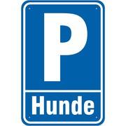 Schild Parkplatz Parken Hunde Hundeparkplatz  3mm Aluverbund