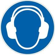 Schild Gehörschutz tragen M003