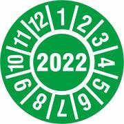 Prüfplakette 2022 Jahresprüfplakette Jahresprüfetiketten 18 oder 30mm