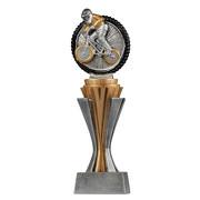 Pokal Trophäe BMX Rennen SALAKA aus Resin Hart PVC