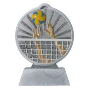 Pokal mit 3D Motiv Volleyball Beachvolleyball Serie Ronny 10,5 cm hoch