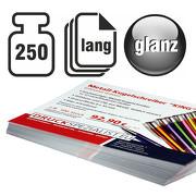 Flyer LANG 250g beidseitig 4/4 glänzend