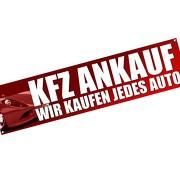 Spannbanner Banner Werbebanner KFZ PKW AUTO Ankauf Verkauf