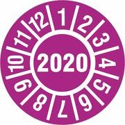 Prüfplakette 2020 Jahresprüfplakette Jahresprüfetiketten 18 oder 30mm