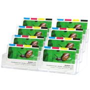 8-fach Visitenkarten Aufsteller Visitenkartenhalter