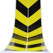 Warnmarkierung 100mm schwarz gelb Set 2x1 Meter ASR selbstklebende Aufkleber