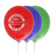 Ballons Luftballons günstig bedrucken 1-farbig Werbeballons 27 30 cm