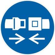 Schild Rückhaltesystem / Gurt benutzen M020