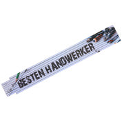 Zollstock Bester Handwerker der Welt ADGA Meterstab Geschenk Männer Vatertag