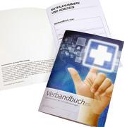 Verbandbuch Erste Hilfe Buch 40 Seiten A5 DGUV Information 204-020