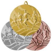 Medaille MMC2350 Laufen Leichtathletik Gold Silber Bronze 50 x 3 mm