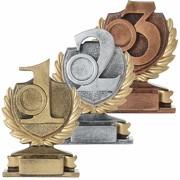 Pokal PRAG Platz 1 2 3 Zahl Ziffer Sieger Trophäe Keramik 250g