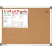 Korktafel Korkboard Rheinsberg Pinntafel mit Alurahmen 3 Größen