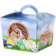 Geschenkekarton Schachtel Verpackung Geschenk Box Ostern Hase