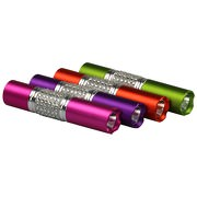 Glitzer-Taschenlampe mit LED und Glitzersteinen inklusive Wunschgravur *AUSLAUFARTIKEL !!!!*