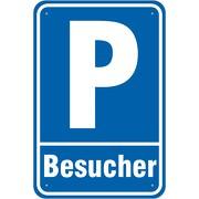 Schild Besucherparkplatz Parkplatz Besucher 3 mm Alu Verbund