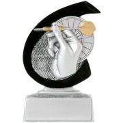 Dart Pokal ARLES Trophäe Preis 10 cm hoch günstig Minipokal