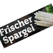 Banner Werbebanner Frischer Spargel 3 x 1 Meter Werbeplane