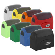 Stempel Wagraf A3 selbstfärbend Automat 8 Farben Automatikstempel 49 x 19 mm bis 4 Zeilen