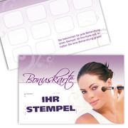 Kosmetik Pass Bonuskarte Kosmetik Treuekarte, Gutschein