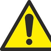 W026 Warnzeichenaufkleber Warnung Vor Gefahren Durch Das Aufladen Von Batterien Sonstige Betriebsausstattung