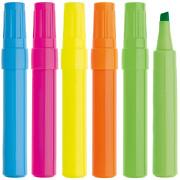 Marker Textmarker FESTA in 5 Farben mit Druck Werbedruck 1-farbig