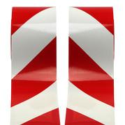 Warnmarkierung 100mm reflektierend Typ I / retroreflektierend Set 2x1 Meter