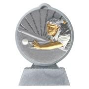 Pokal mit 3D Motiv Snooker Billard Poolbillard Serie Ronny 10,5 cm hoch