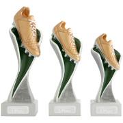 Fußball Fußballschuh Pokal Pokalset METZ mit Gravurplatte und Gravur