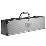 Grillkoffer BBQ Koffer 3-teilig Grillbesteck mit Gravur für den besten Papa auf der Welt