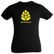 HOPFNUNGSVOLL Shirt Rundhals mit Aufdruck S-XXL T-Shirt Bier