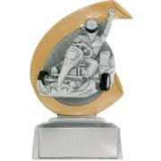 Kart Pokal ARLES Trophäe Preis 10 cm hoch günstig Minipokal
